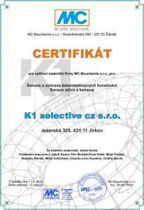 certifikát mc bauchemie
