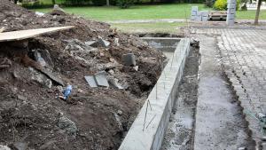 základy hromadné garáže